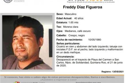 Comunicado: busco a mi hermano en medio de miles de desaparecidos: @RubenFigueroaDH