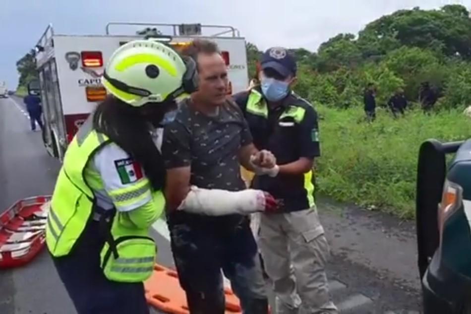 Fallecen 4 personas migrantes de Cuba, durante accidente enVeracruz