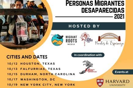 Comunicado: Caravana de Madres de Personas Migrantes Desaparecidas – USA2021